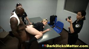 Crooked Bisexual Milf Cops Fuck Arrested..
