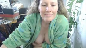 Unshaven mature goddess KRING with..