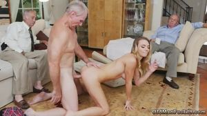 German mature hardcore anal Molly Earns..