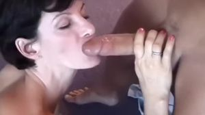 Mature MILF Sharon Mitchell gives public..