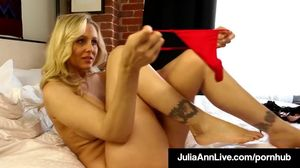 Mega Milf Julia Ann Finds Out Boy Toy..