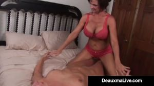 Busty Milf Deauxma Squirts in Magdelaine..