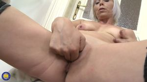 Mature housewife Kathy White needs a..
