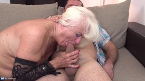 Aged and young moms take huge dicks