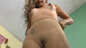 Latina milf Susana gets all excited in..