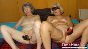 OmaHoteL Horny Granny Nun Tries BDSM Sex..