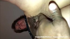 Having fun with hairy mature neighbor...