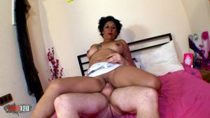 Mature Latina Mexican whore makes first..