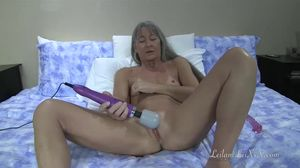 Masturbation 22 - Milf with Doxy n Glass..