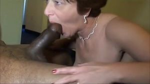 Mature Wife Enjoys The Dark Meat